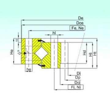 المحامل ZR1.25.0849.400-1SPPN ISB