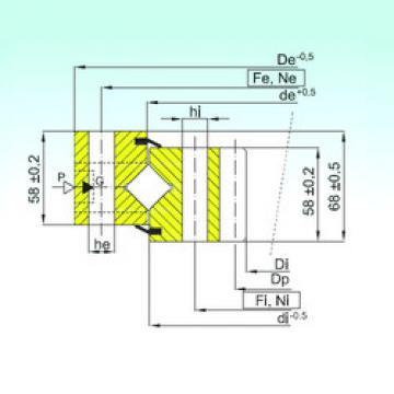 المحامل ZR1.16.1534.400-1SPPN ISB