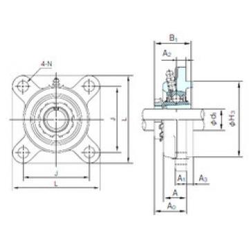 Rodamiento UKFS320+H2320 NACHI