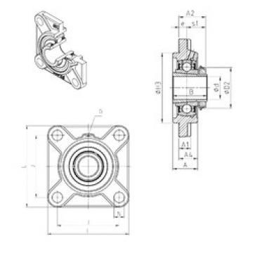 Rodamiento UKFS320H SNR