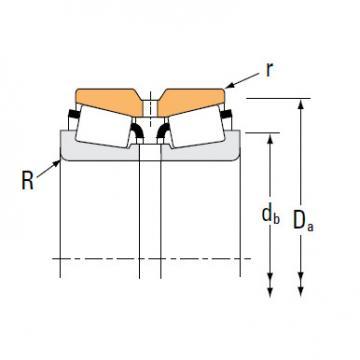 Bearing H239649 H239612CD