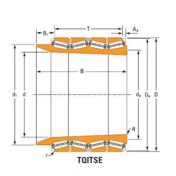 Four-Row Tapered Roller Bearings  lm285546Td lm285510d double cup