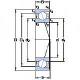 Bantalan 71815 ACD/HCP4 SKF