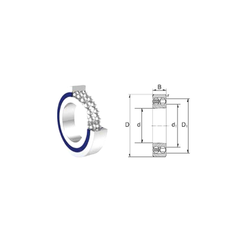 S1201 ZEN Self Aligning Ball Bearings
