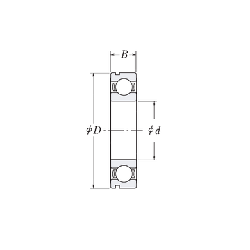 LJ1.3/4-N RHP Deep Groove Ball Bearings